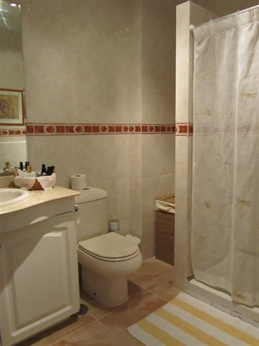 2nd bathroom with shower