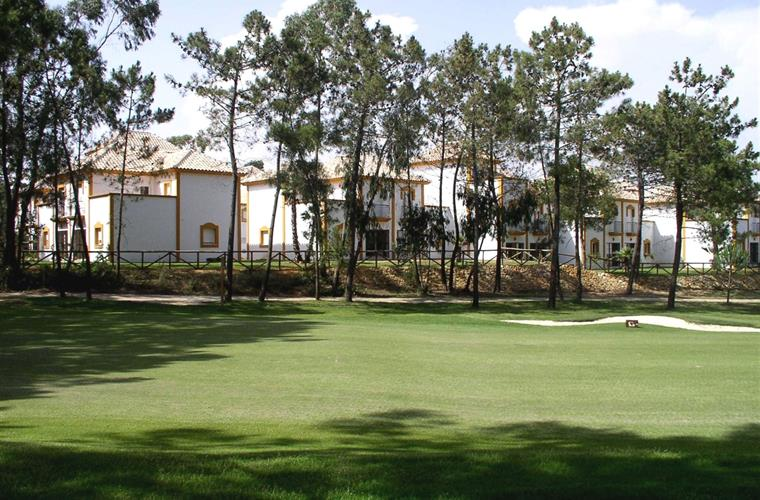 5th green (apartment centre of photo)