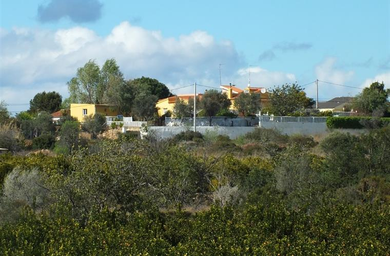 Villa Torrent from a distance