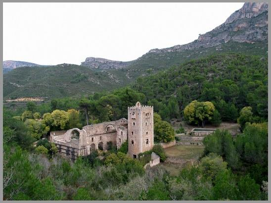 Monastery in the place of the Murta, 4 km from the house