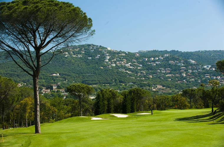 Golf court with views at Santa Cristina D'Aro