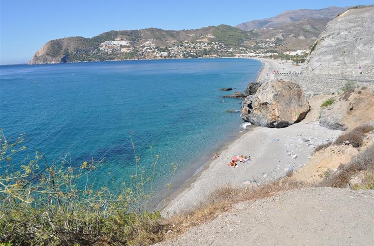 Nearby Beach in La Herradura