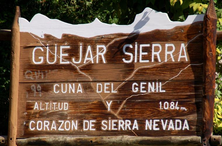 Guejar Sierra, at the heart(corazon) of the Sierra Nevada
