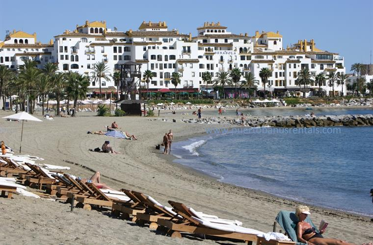 Direct access to the beach, Puerto Banus and the Ocean Club from