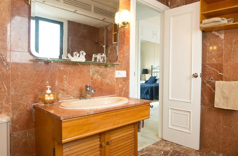 En-Suite Bathroom. All Marble,  walk in shower, bidet & WC