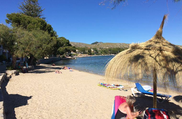 Lovely Beach on The Pine Walk, Puerto Pollensa