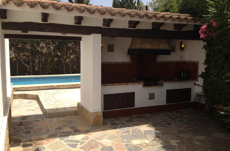 Villa in Denia BBQ