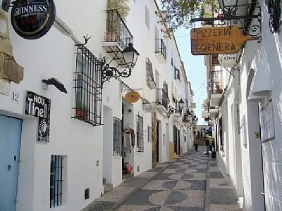 Old Altea Town comes alive with diners in the evenings.