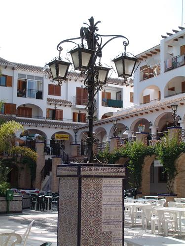 In the Villamartin square