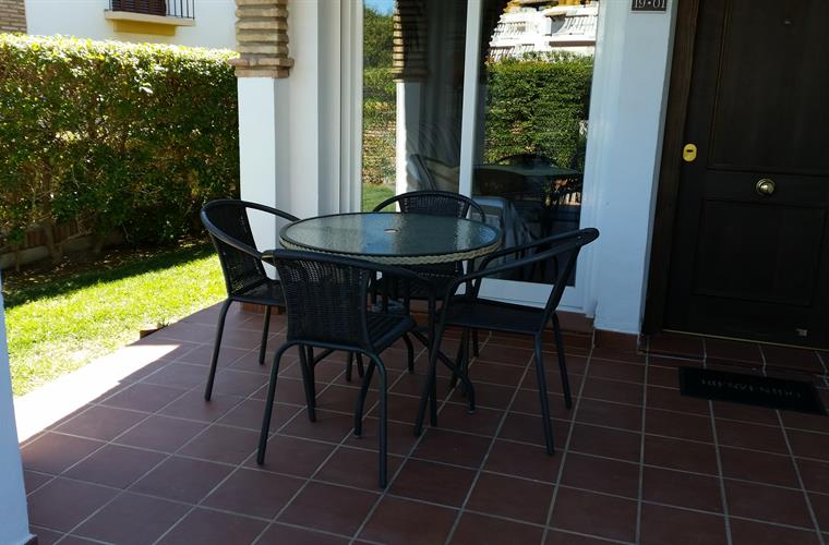 Patio table and chairs...