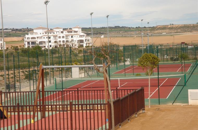 play-ground &  tennis-courts