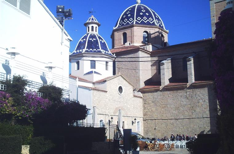 Altea oldest church