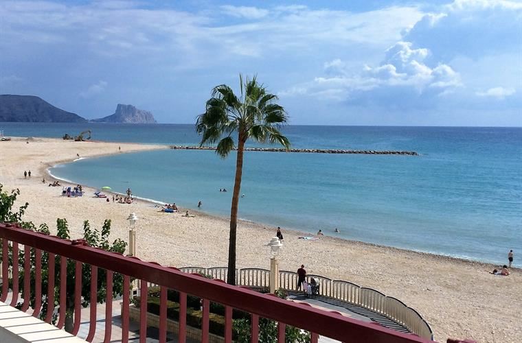 View to Calpe direction