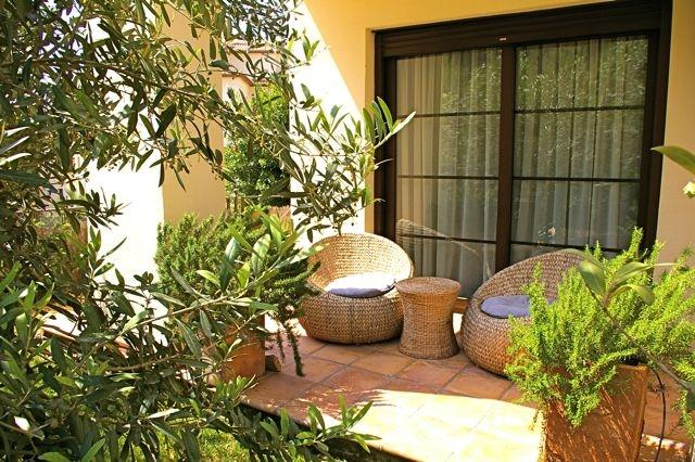 Private terrace outside Bedroom 2.