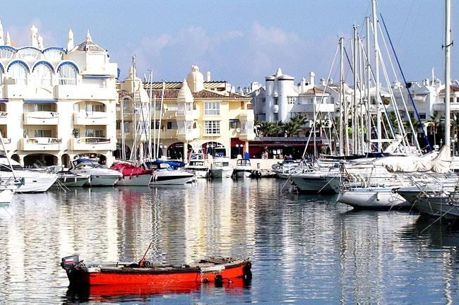 The Harbor of Benalmadena