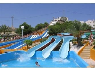 Aqua Park 700 meter from the villa.