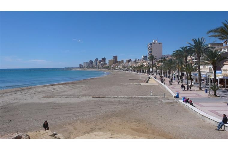 El Campello beach!