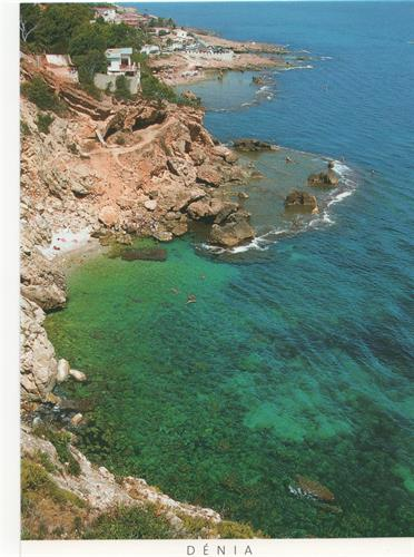 "A lovely cove to snorkel or sunbathe:5km south on ""Las Rotas"" Road"