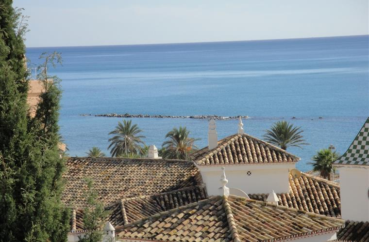 view of the sea from terrace