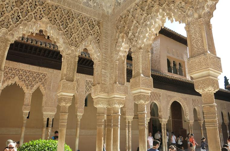 Alhambra, Granada is only a 90 minutes drive away