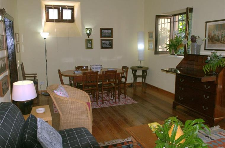 Living-room and dining room