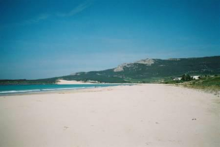 the beach at Bolonia
