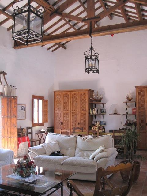 The old school hall (breakfast room and guest lounge)