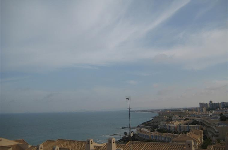 Coast line from Roof Terrace