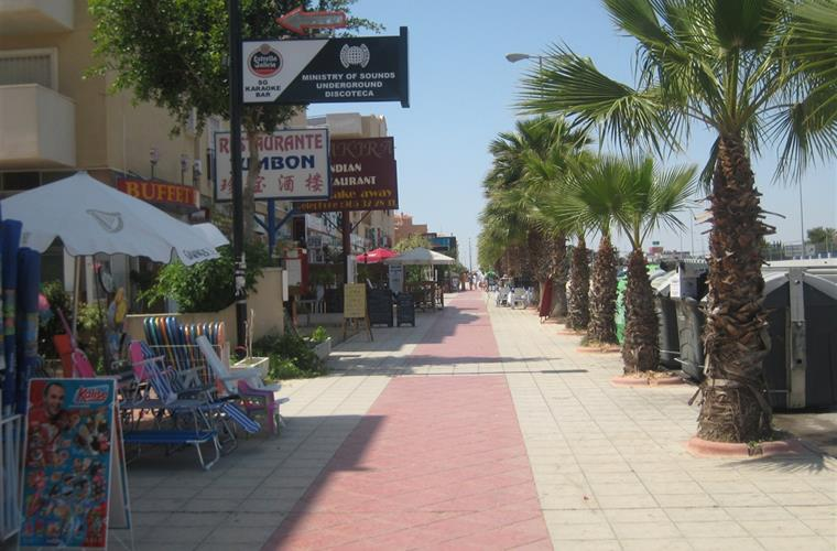 Cabo Roig - Part of Strip
