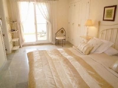 Main bedroom with access to bathroom and access to a beautiful ter