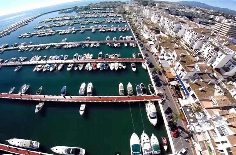 Photo views over Puerto Banus