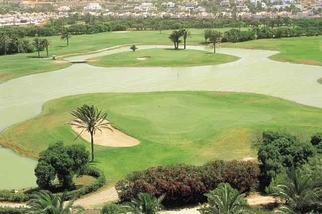 27-holes golf course of Almerimar.