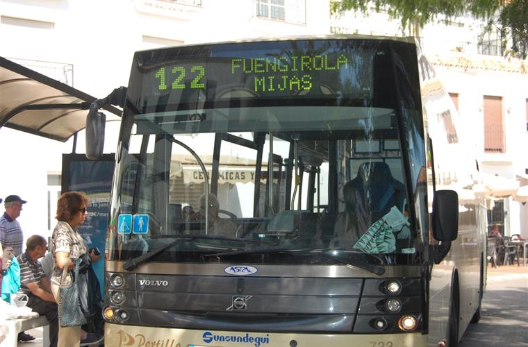 Regular buses to Fuengirola