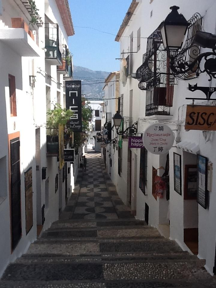 Altea artist village near Benidorm.