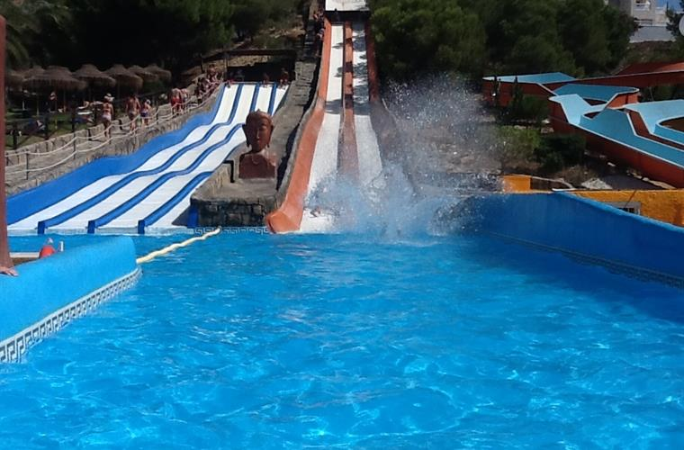 Rojales aquapark only 25' away