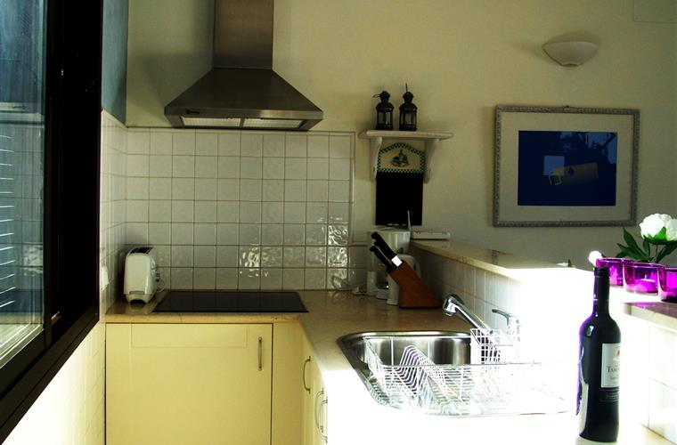 Small but well equipped kitchen