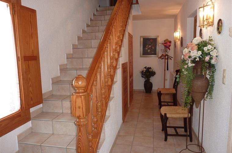 Hall and stairs to 3 bedrooms