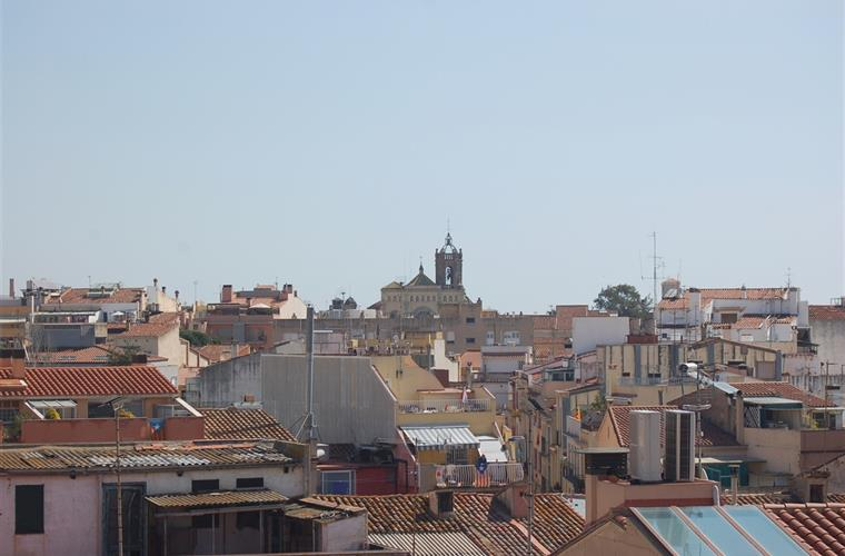 View over Mataró