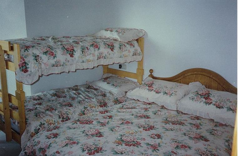Bedroom (winter bedding)