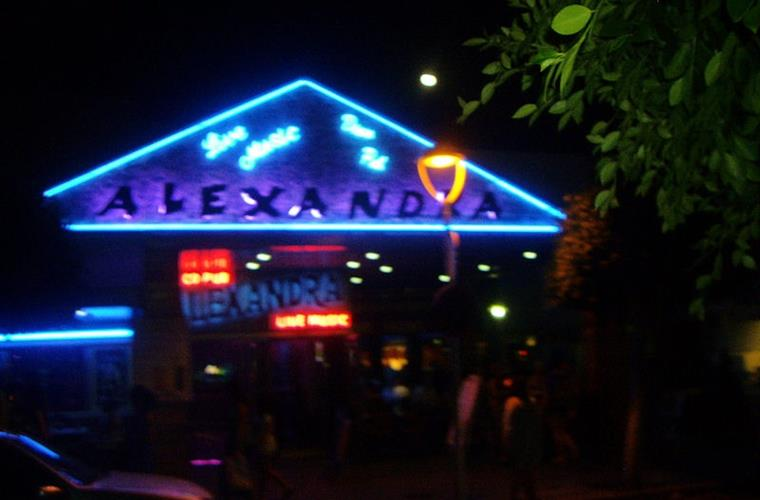 Alexandra's bar live bands most evenings