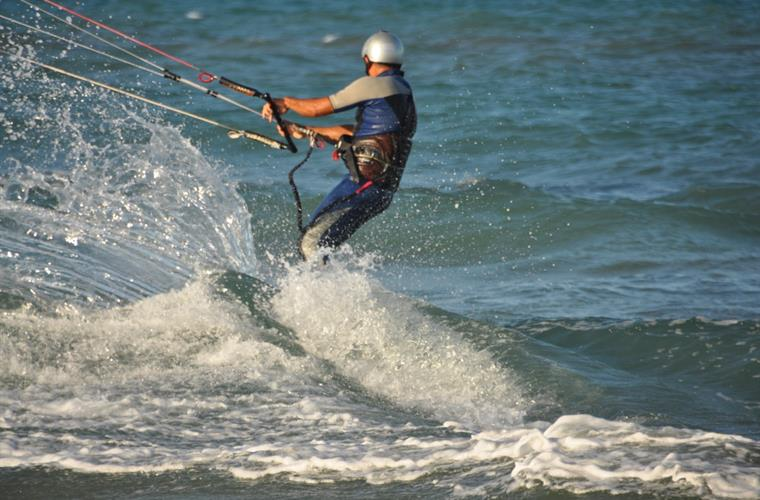 Kite surfing and Wind surfing paradise