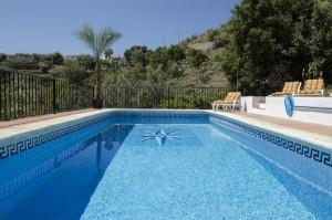 Wonderful pool area with terracing