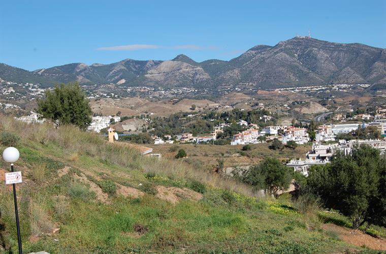 Mijas mountains- look from the Anex.