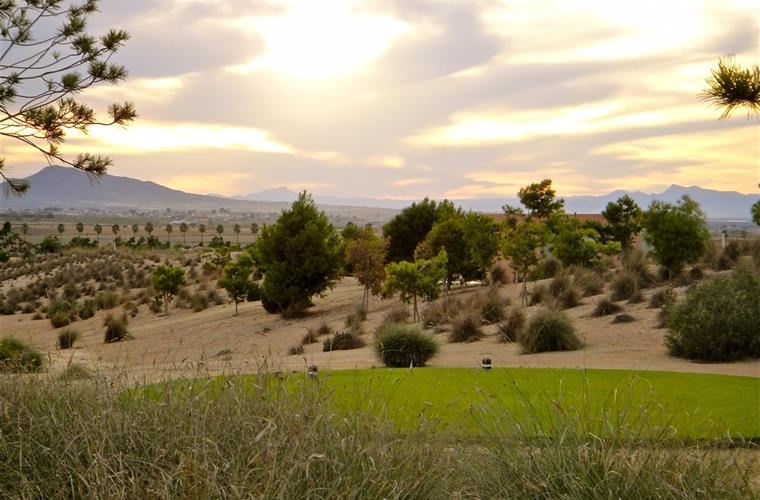 Sunset over the Alhama Signature Course