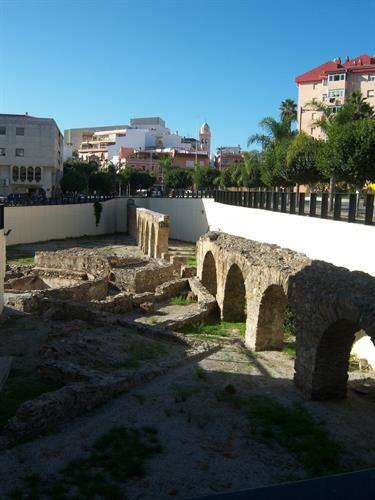 Roman excavations in Almuñecar