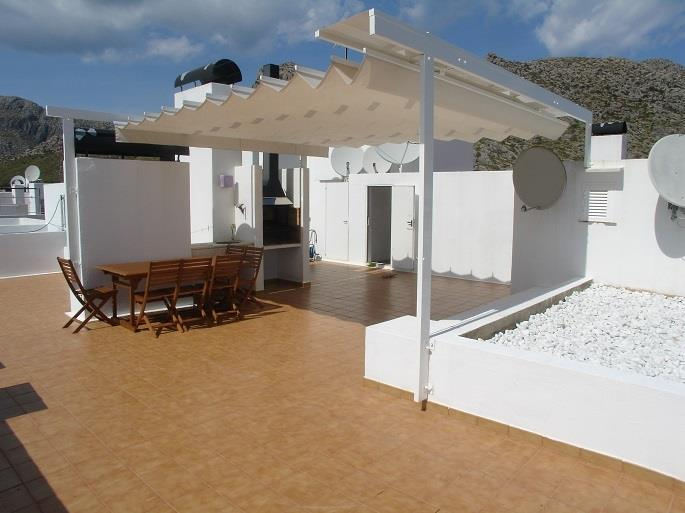 Private Roof Terrace with barbecue