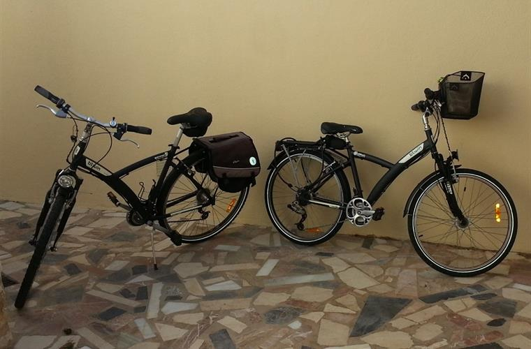 Large en medium unisex bycicle for rent: € 50/week/bycicle