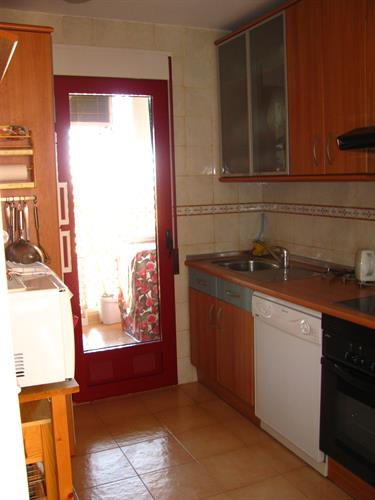 Kitchen into Gallaria