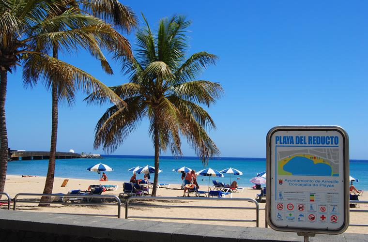 Beach in Arrecife