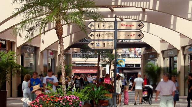 Zenia Boulevard shopping